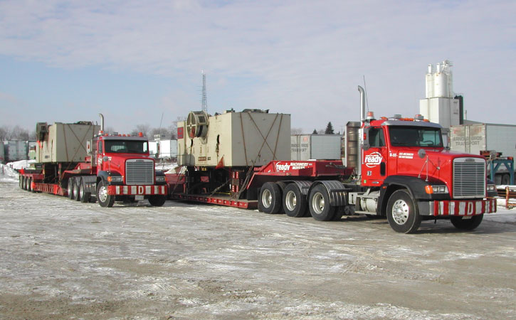 Challenges When Transporting Heavy Machinery